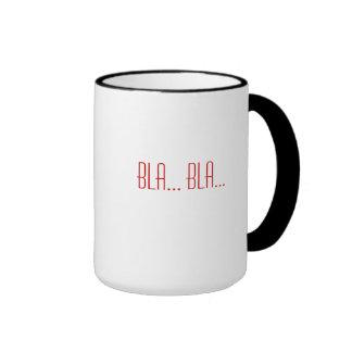 bla... bla... coffee mug