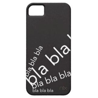 bla del bla del bla funda para iPhone 5 barely there