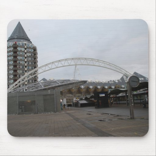 Blaak, Rotterdam Mouse Pad