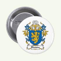 Blaauw Family Crest Button
