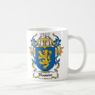Blaauw Family Crest Coffee Mugs