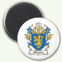 Blaauw Family Crest Magnet