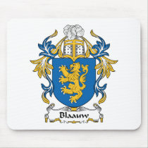 Blaauw Family Crest Mousepad
