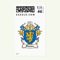 Blaauw Family Crest Stamps
