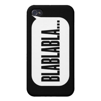 blablabla iPhone 4 cover