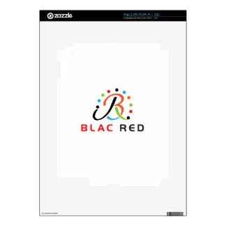 Blac Red iPad 2 Decal