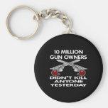 Black 10 Million Gun Owners Kill Key Chains