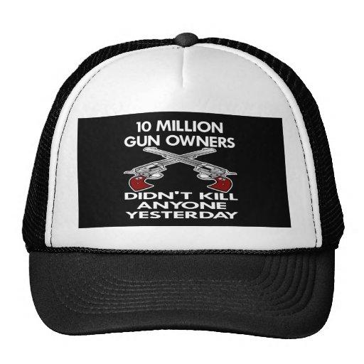 Black 10 Million Gun Owners Kill Trucker Hat