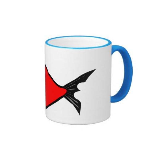 Black 11 oz Ringer Mug
