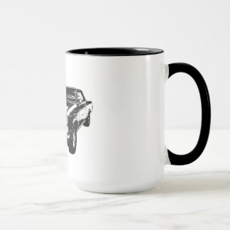 Black 1965 GTO coffee mug
