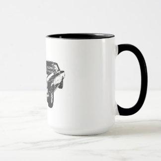 Black 1965 GTO coffee mug