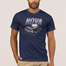 Black 1966 Chevy Nova SS t-shirt