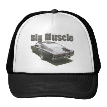 Black 1967 Dodge Charger Trucker Hat