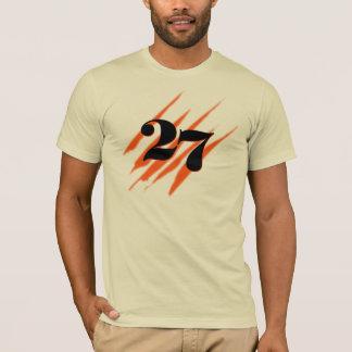 Black 27 (slashes) T-Shirt