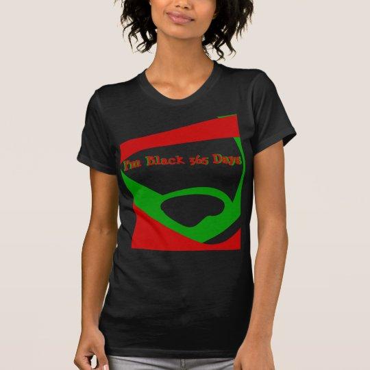 Black 365 T-Shirt. T-Shirt