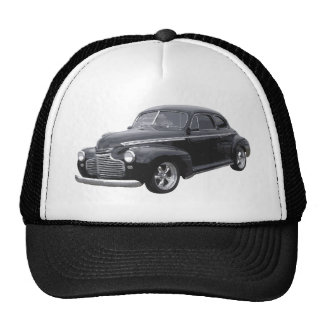 Black 41 Chevy Coupe Trucker Hat
