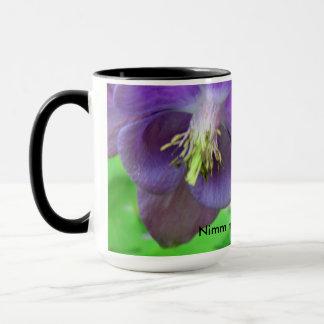 Black 444 ml Ringer cup blumig purple
