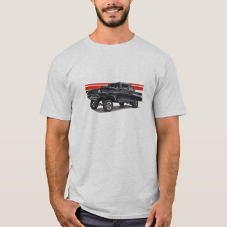 Black '57 Bel Aire post gasser T-Shirt