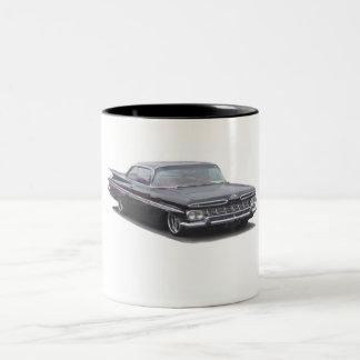 Black '59 Chevy Impala Two-Tone Coffee Mug
