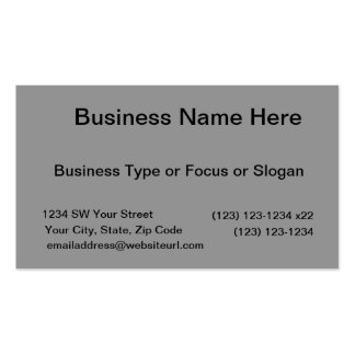 black 8 x 11 design your own product business card