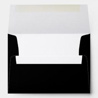 Black A7 Felt Envelope