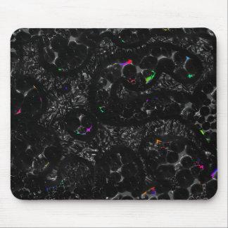 Black Aborigine Mouse Pad