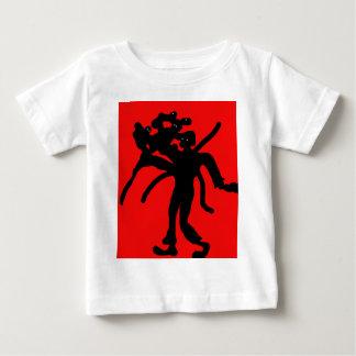 Black abstract man baby T-Shirt