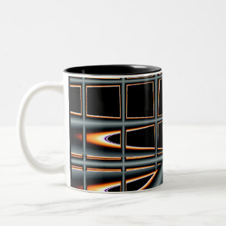Black Abstract Mug