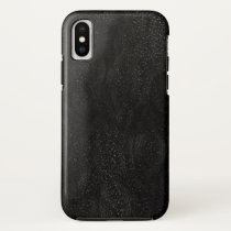 Black Abstract Outer Space Astronomical Design iPhone XS Case