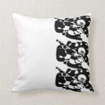 Black Abstract pattern pillow