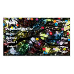Black Abstract Tree Business Card