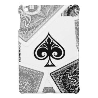 Black Ace fo spades on cover iPad Mini Cover