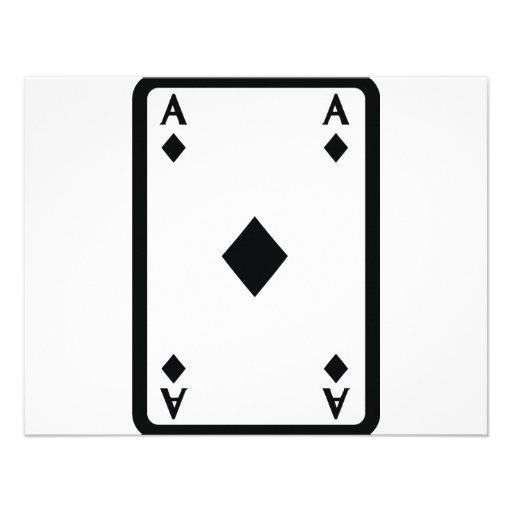 How To Draw Ace Of Diamonds