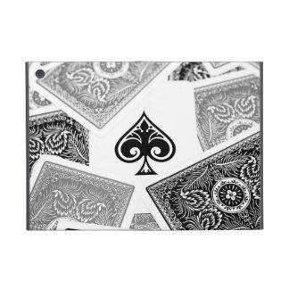 Black Ace of spades on cover iPad Mini Cover