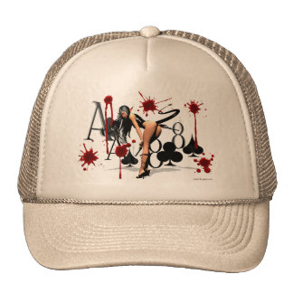 "Black Aces & 8s  ""The Dead Man's Hand"" Trucker Hat"
