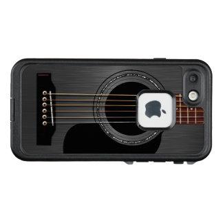 Black Acoustic Guitar LifeProof FRĒ iPhone 7 Case