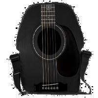 Black Acoustic Guitar Messenger Bag