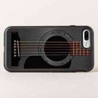 Black Acoustic Guitar OtterBox Symmetry iPhone 7 Plus Case