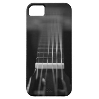 Black Acoustic Guitar Photo iPhone 5 Covers