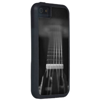 Black Acoustic Guitar Photo iPhone 5 Cover