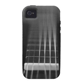 Black Acoustic Guitar Photo iPhone 4/4S Cases