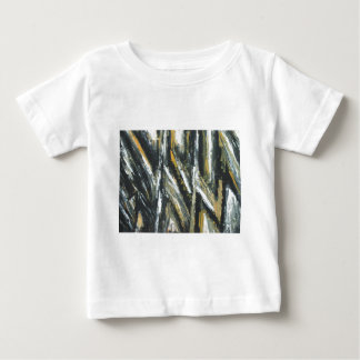 Black Acute Angles(abstract expressionism) Baby T-Shirt