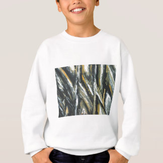 Black Acute Angles(abstract expressionism) Sweatshirt