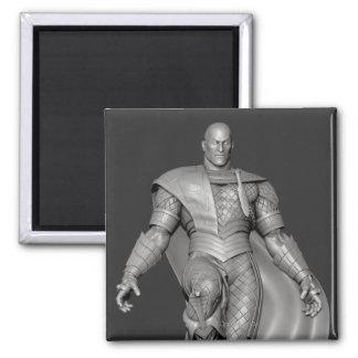 Black Adam Alternate 2 Inch Square Magnet
