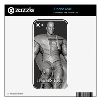 Black Adam Alternate Decal For iPhone 4