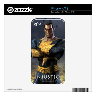 Black Adam iPhone 4S Decal