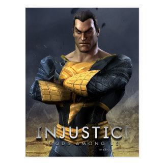 Black Adam Postcard