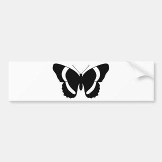 Black Admiral Butterfly Custom Bumper Sticker