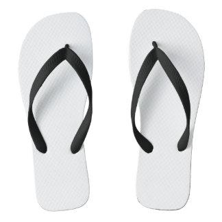 Black Adult Flip Flops, Wide Straps Flip Flops