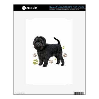 Black Affenpinscher Dog Decal For The NOOK